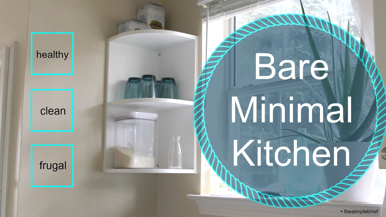 Economical Minimalist Kitchen – The Simple Brief